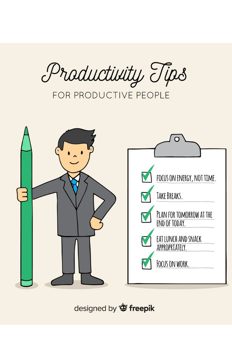 productivity tips for smart people - get more out of your day