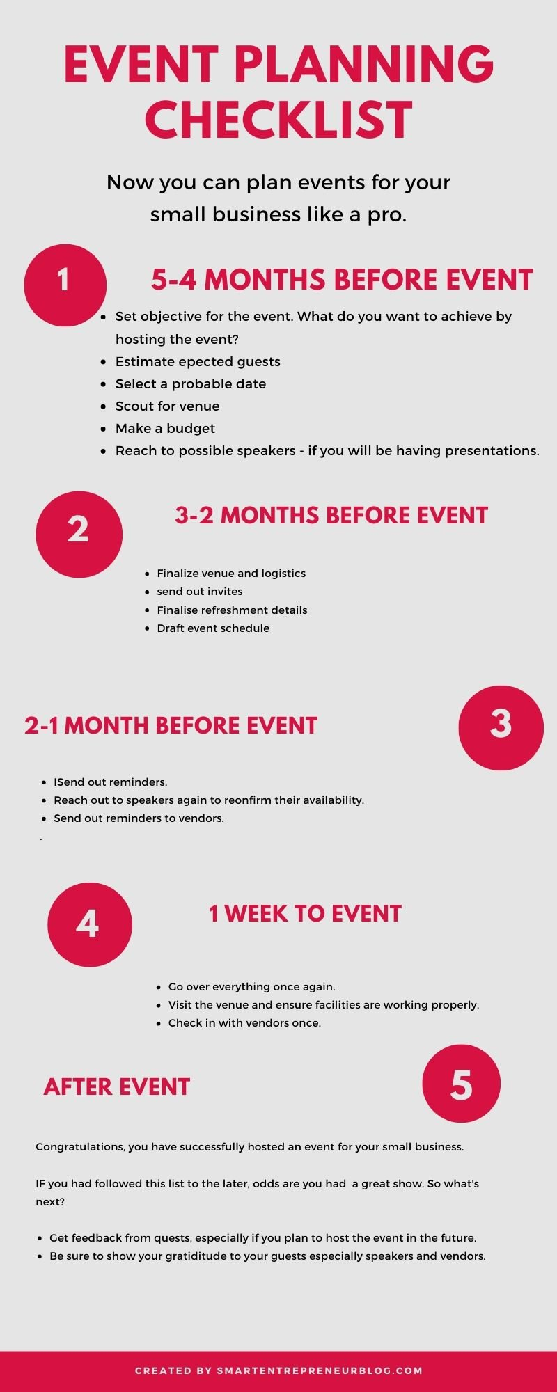 A Handy Corporate Event Planning Checklist To Help You Organize Year-end Events for Your Business